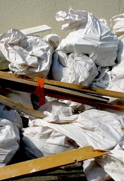 Débarras - Vente sel et housse - gaine vide-ordures